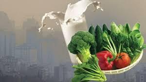پاورپوینت آلاینده های هوا و تغذیه مناسب
